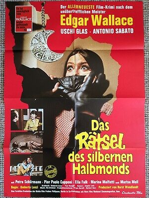 7 Blood Stained Orchids Original Poster Lenzi Giallo
