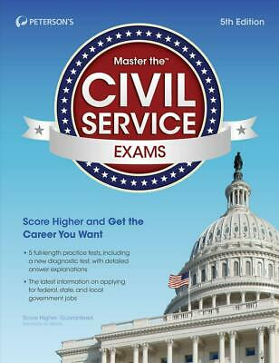 Master the Civil Service Exams by Peterson's Paperback Book (English)