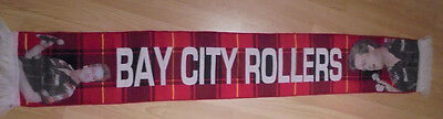 Les Mckeown Bay City Rollers Coloured Brand New Limited Edition Tartan Scarf