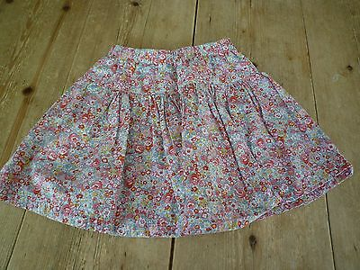 Super Pretty JOULES JUNIOR Pink Floral Print Twiry SKIRT, 5 Years