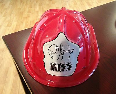 KISS *** PAUL STANLEY PLASTIC FIRE HAT *** Not Official