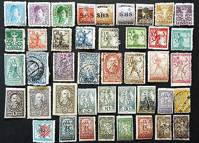 Early Stamps Of Yugoslavia 1918 - 1920