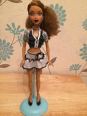 My Scene Lets Go Disco Madison Wesley Barbie Doll Mattel Rare
