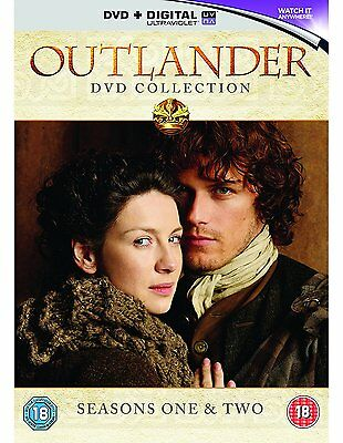 Outlander the complete Season Series 1 + 2 DVD Box Set R4 season 1 inc part 1+2