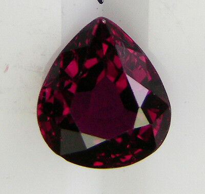 0.68ct!! NATURAL RUBY EXPERTLY FACETED IN GERMANY +CERTIFICATE AVAILABLE