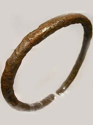 Genuine Ancient Roman Judaea Israel Palestine Phoenicia Bronze Bangle 100AD