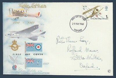 UK England First Day Cover # 566 - British Royal Air Force with Cachet