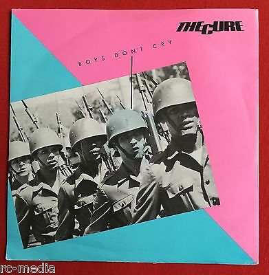 "THE CURE -Boys Don't Cry- Original UK Fiction 7"" w/ Soldiers Picture Sleeve"