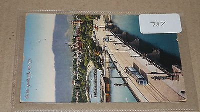 Old postally used postcard our ref#787 Zurich 1924