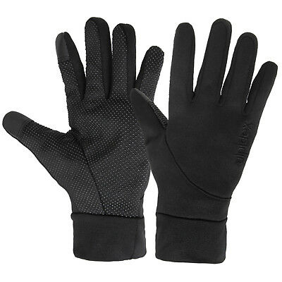 Softshell Sports Gloves LIGHT WOOLF by Alpidex with Touchscreen Function