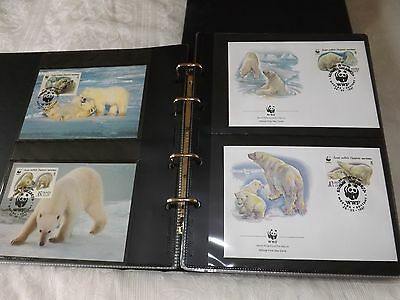WWF 1st day covers - 1980's