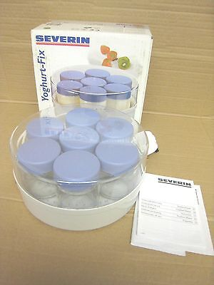 Yoghurt Maker -- Severin  Jg 3516  All Complete With Box - 7 Jars & Instructions