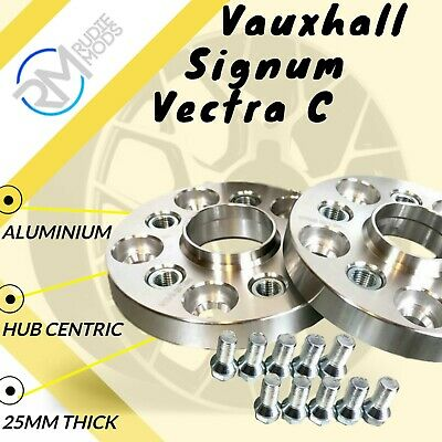 Vauxhall Signum Vectra C 5x110 25mm ALLOY Hubcentric Wheel Spacers 1 pair