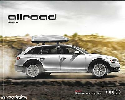 2015 15  Audi  Allroad  Accessories original sales  brochure  MINT