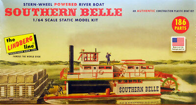 Southern Belle River Boat Raddampfer 1:64 Model Kit Bausatz Lindberg HL201/06