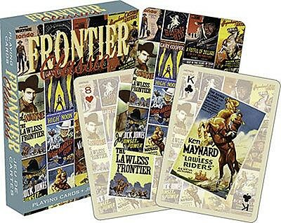 Frontier Classics (Western Film Posters) set of 52 playing cards (+ jokers) (nm)