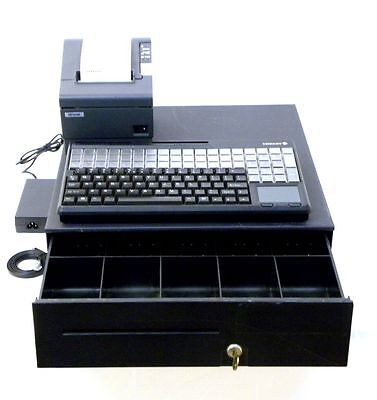 Cash Drawer, Printer and POS Keyboard ready for your Computer to Make DIY POS