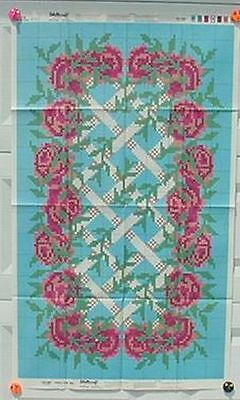 Shillcraft Exacta-Graph Paper Pattern - #479 Climber Roses 30x50 w/recipe