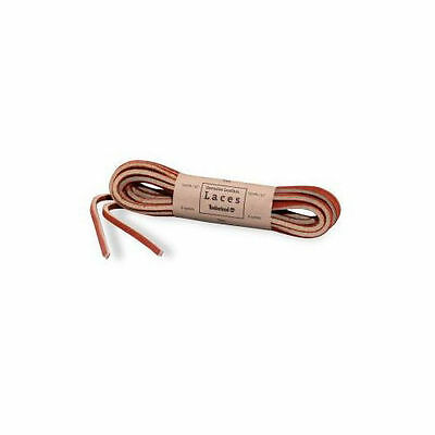 TIMBERLAND REPLACEMENT LACES RAWHIDE TAN RED LEATHER FLAT SHOELACES 52in