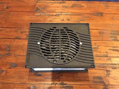 Vintage Minuteman Model  F13 Powered Register Floor Or Wall Iron Covers N.o.s.