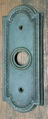 Victorian Bronze Otis elevator Push Button 1927