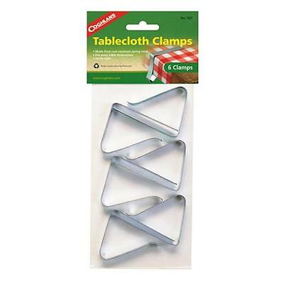 Coghlans 527 Tablecloth Clamps - Package of 6