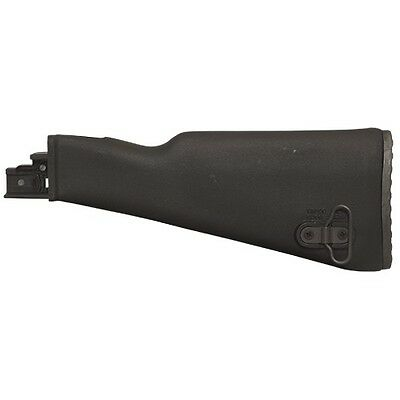 Tapco STK06101B Black Polymer Intrafuse Fixed Stock Fits Stamped Receivers