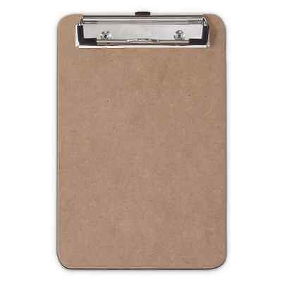 "Saunders 5510 Low Profile 6""X9"" Recycled Hardboard Memo Clipboard Hanging Hole"