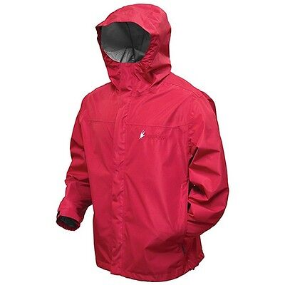 Frogg Toggs JT62330-10SM Youth Red Java Toadz 2.5 Jacket - SM