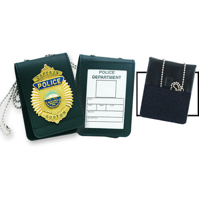 Strong Leather 71520-0002 Universal Badge & Identification ID Holder/Case