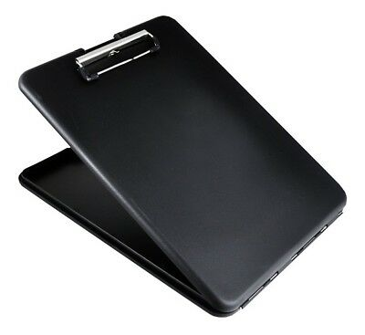 "Saunders 00558 Black SlimMate Storage Letter/A4 Clipboard 1.25"" x 9.5"" x 12.75"""