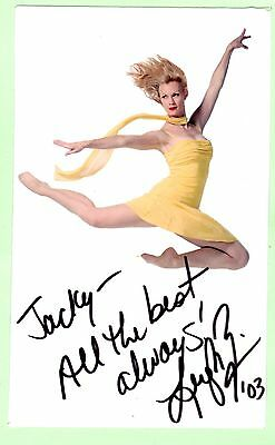 Leigh Zimmerman. Stage & Film Star. Autographed Photo..
