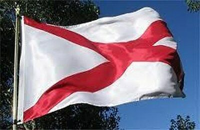 ALABAMA STATE OF FLAG BIG 2x3 ft new