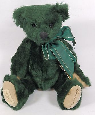 Deans Limited Edition Green Mohair Bear - 'Gorgeous Gordon' -  Signed / Tags