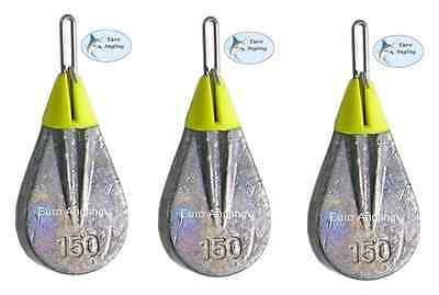 Breakaway Tackle NEW Impact Flatty Lead Weights 150g - Pack of 3