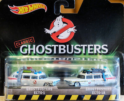 Ecto-1 + Ecto-1a Ghostbusters Twinpack 2 Autos II 1:64 Hot Wheels Classics DVG08