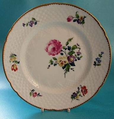 """Vintage Bing and Grondahl Saxon Flower Hand Painted Plate 8.5"""""""