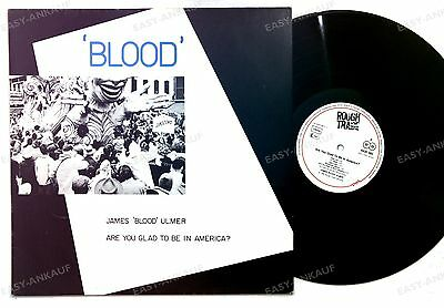 James Blood Ulmer - Are You Glad To Be In America? GER LP 1980 Jazz Funk //1