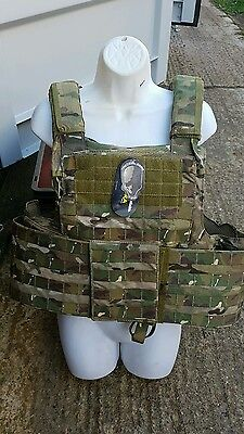 TMC Tactical Multicam Plate Carrier Cordura Military 6094 Hunt Chest Rig Airsoft