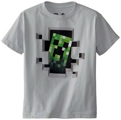 Minecraft Creeper Inside Youth Licensed T-Shirt