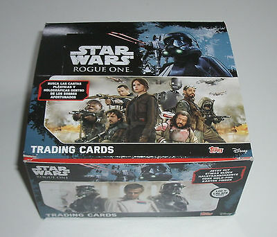 Topps Star Wars Rogue One - 1 x Display / 50 Booster NEU & OVP