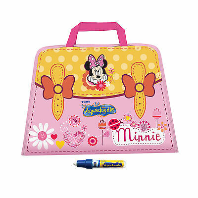 T72351 TOMY Minnie Mouse Doodle Bag Aquadoodle Travel Case Children Toddler 18m+