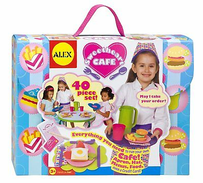 ALEX Toys 40 Pieces To Start Your Own Pop Up Restaurant Sweetheart Cafe Set NEW
