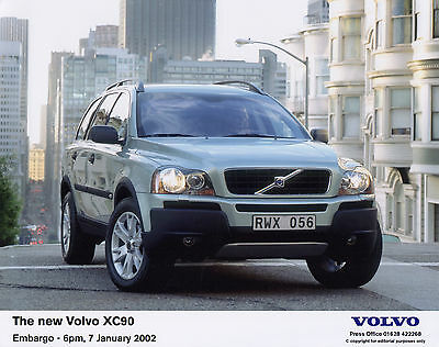 Volvo XC90 World Premiere Press Release/Photographs - 2002