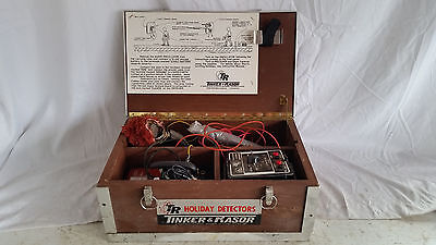 Tinker Rasor Pipe Line Holiday Detector,Oscillator PD-5,PD-B,Mark III Receiver