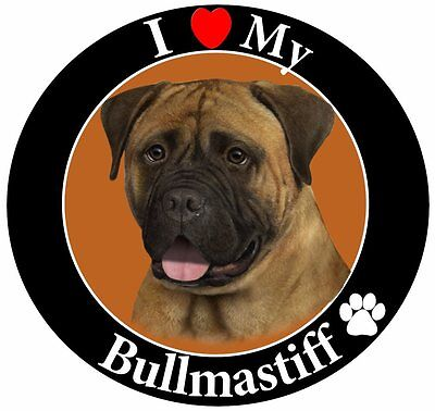Bullmastiff Car Magnet