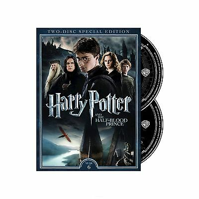 Harry Potter and the Half-Blood Prince (2-Disc Special Edition DVD) NEW