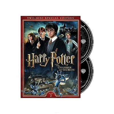 Harry Potter and the Chamber of Secrets (2-Disc Special Edition DVD) New