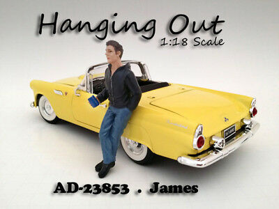 Hanging Out James (Modell Figur) 1:18 American Diorama cool Figure NEU AD-23853