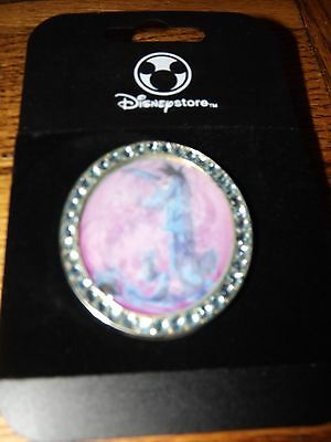 New On Card Disney Store Eeyore Cameo Rhinestone Pin